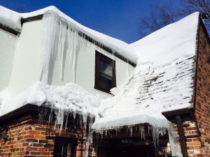roof ice dam repair